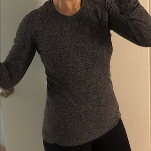 Lululemon stretchy sweater